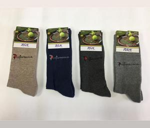 High Quality OEM Wholesale Lycra Men Tennis Socks 6 PCS From Turkey Supplier