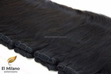 Kinky Curly Double Weft Natural Virgin Hair Wevae for African American Ladies