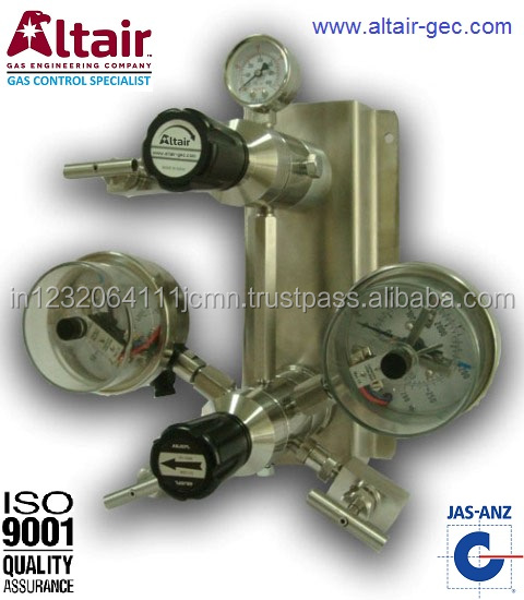 SS High Purity Auto-changeover Regulator System