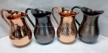 Hammered Copper Jug from Orignal and Leading Manufacturer from India