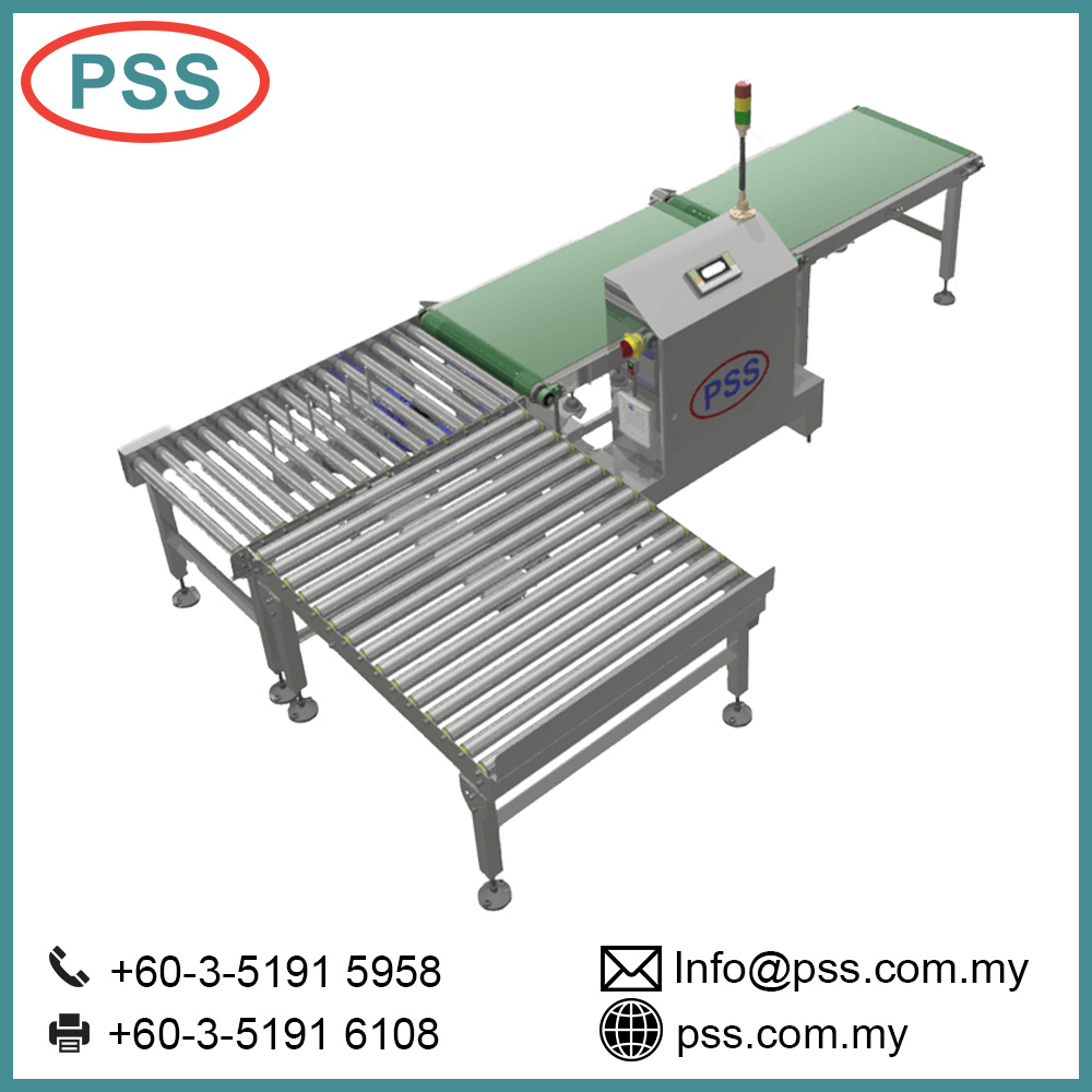 PSS Belt Conveyor System/ packaging line Check weigher with worktableCheck Weigher Belt Conveyor System