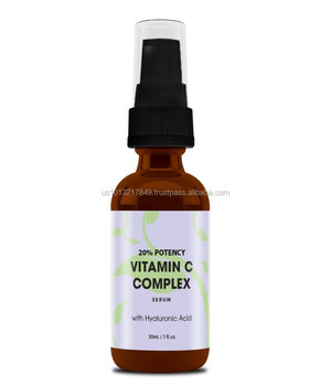 Private Label ( OEM ) Pure Vitamin C Serum for Skin Vitamin C Hyaluronic Acid Serum