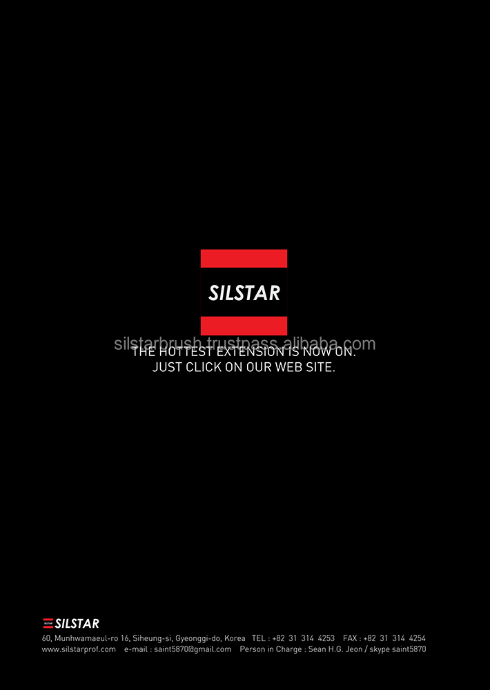 SILSTAR_ADCIL_+4000 designs SILK Korean individual SILK tapered silk mink volume both extension eyelashes