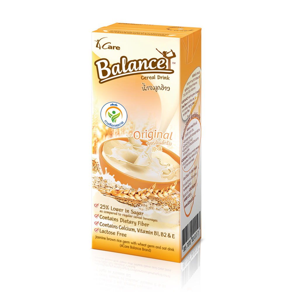 4CARE BALANCE CEREAL DRINK 180 ml [Original]