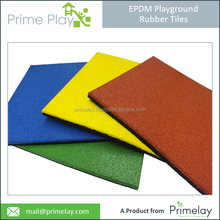 Playground Rubber Flooring/Square Rubber Tiles
