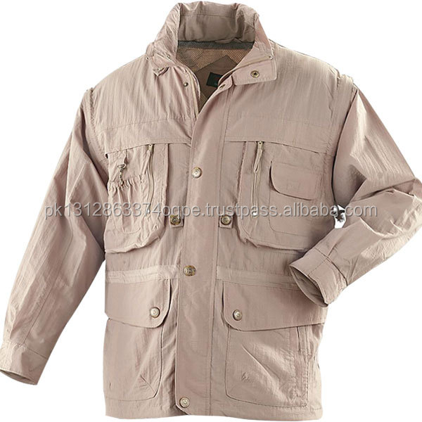 Men's Cotton Softshell Hunting Jacket & Coat Military Coat