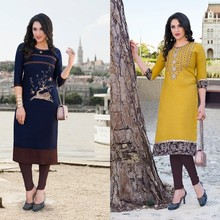 collection of manufacturing price new style rayon kurti