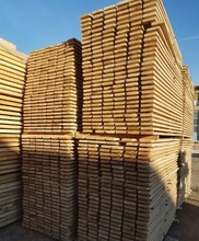 FAS KD Edged Oak Timber, 27 mm