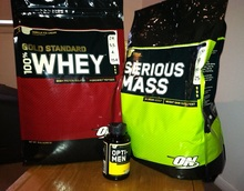 Bulking Stack: Optimum Nutrition Serious Mass & Gold Standard Whey Un-Boxing