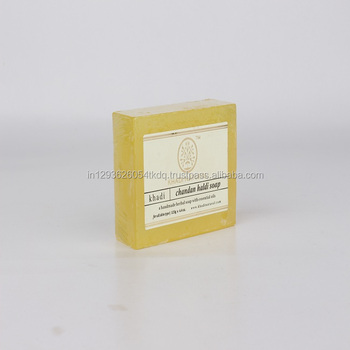 Khadi Natural Herbal Sandal Turmeric Soap