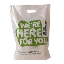 Vietnam Supplier Plastic HD/LDPE Punched Carrier Bags