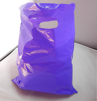 Fashionable High Quality Punch out Die cut Plastic Bag