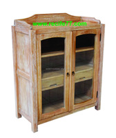 Cabinets 2 door glass mindi antique