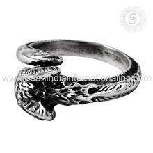 Jaipur handmade plain silver rings solid material of 925 sterling silver jewelry wholesale prices silver rings