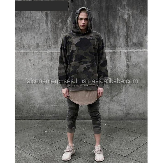 2016 New korean oversized streetwear hoodie mens fashion urban clothing pullover hoodies men