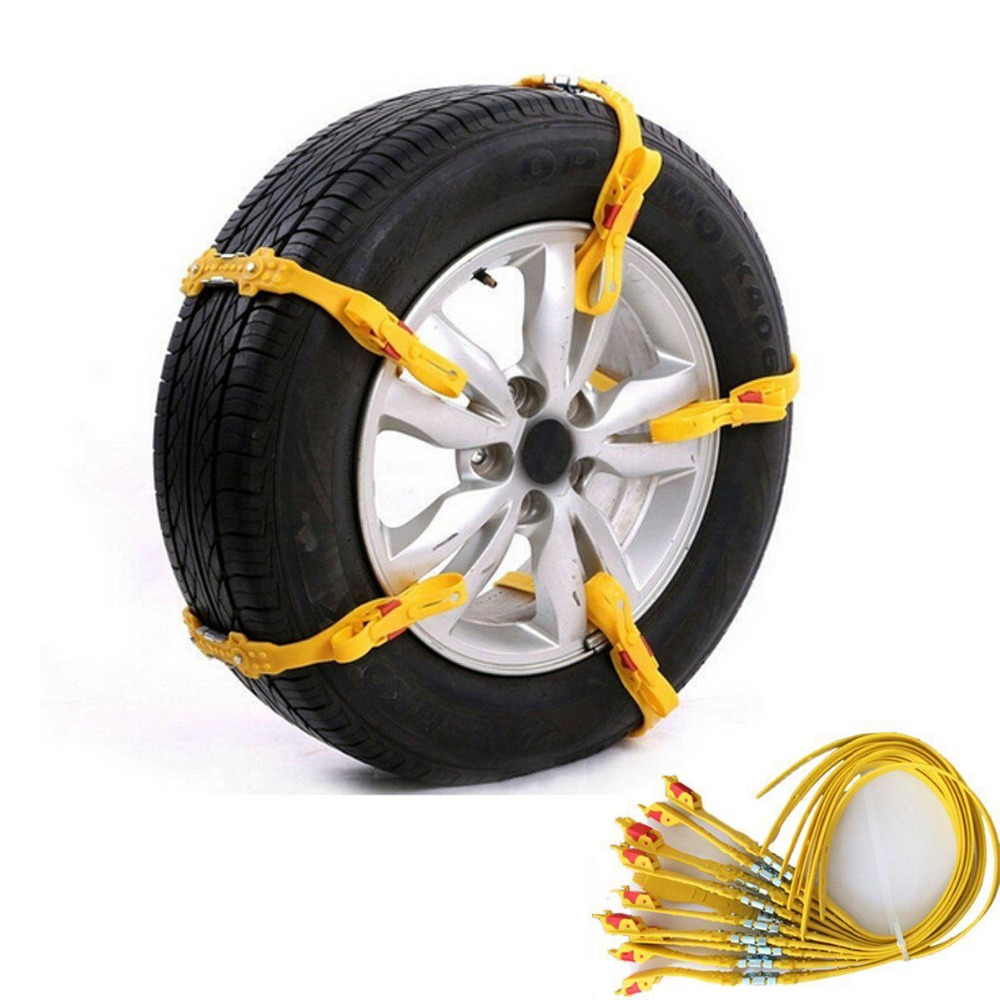 Car And Light Commercial Vehicle Professional High Quality Easy Installation Rubber Snow Chain And Rubber Ice Rain Chains