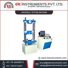 Enhanced Quality Universal Testing Machine Extensively Used in Aerospace Insustry