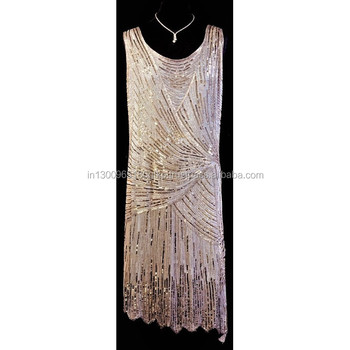 Evening Dress Flapper Dress Fringe Dress Cocktail Dress Vintage Retro Dress Women's Clothing