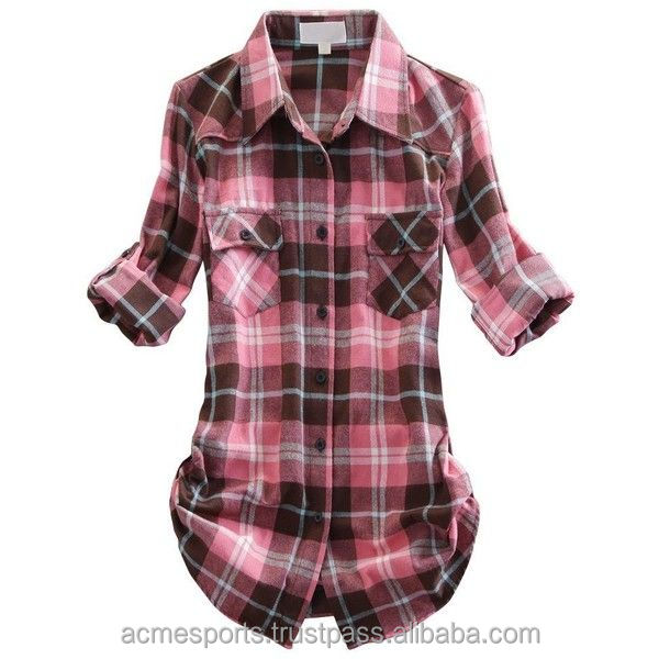 Flannel Shirts - Mens cheap shirt fitted checked flannel shirt