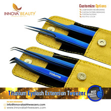Stainless Steel Fine Pointed Eyelash Extension Tweezers/ Economy Series of Eyelash Tweezers