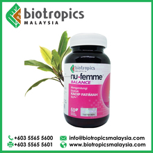 Nu-Femme Balance Tongkat Ali Extract Herbal Food Supplement Distributors Manufacturer