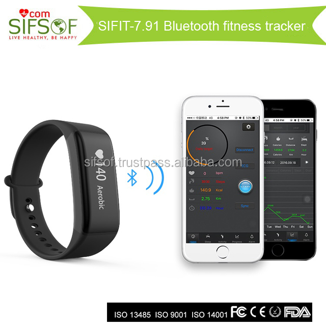 SIFIT-7.91 Bluetooth Smart Mobile Phone Accessories pedometer