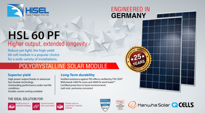 Hanwha Q cells solar Panels in Pakistan