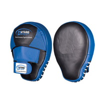 High Quality Leather Training Target Punch Pads PU boxing Focus Mitts Mesh Integrated Cow Hide Leather Curved Focus Pads