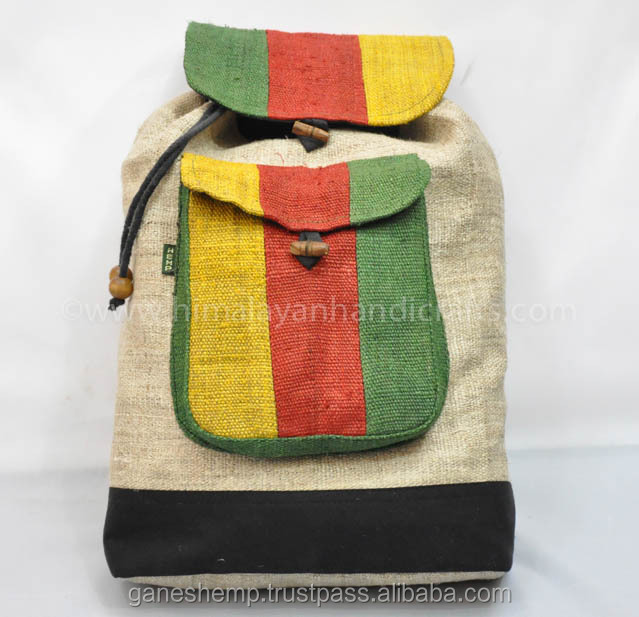 hemp backpack HBB-0014
