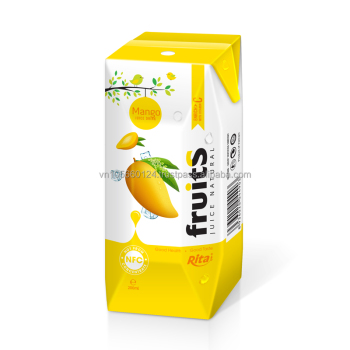 NFC fruit juice mango juice in box packing