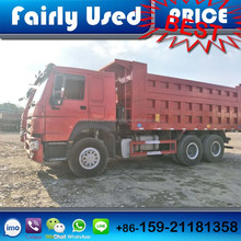 Used High Quality Sinotruck Howo/Shacman F300/Volvo/Scania Dump Tipper Truck 6x4 8x4