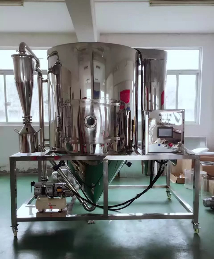TOPTION 10L centrifugal rotary atomizer laboratory spray dryer price TP-S100