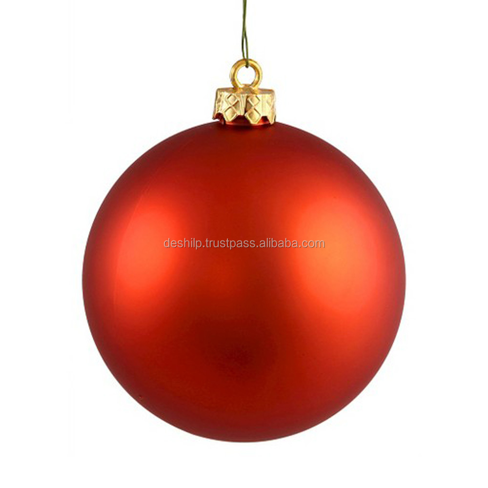 Festive Christmas decor hand painted confetti glass Christmas ornament for promotional wholesale