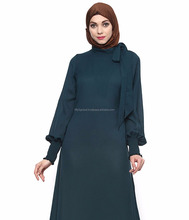 Green Colour Abaya Dubai Stylish Designs