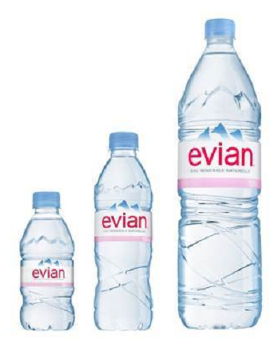 EVIAN HOLIDAY Mineral Water