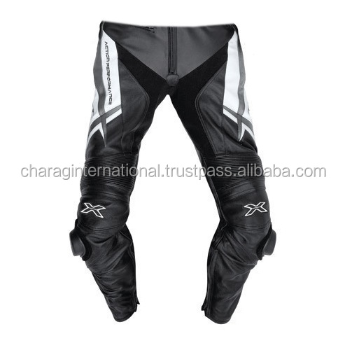 Professional Motorbike Leather Pant,Custom Made Motorcycle Racing Leather Trouser