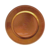 New gold beads charger plate