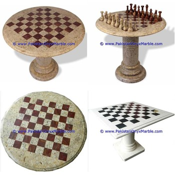 wholesale high quality marble tables modern chess table coffee natural stone chess figures