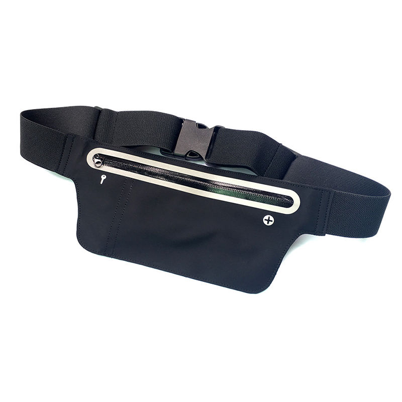 Running Hiking Sport Bum Bags Travel Money Phone Fanny Pack Waist Belt Zip Pouch FPWB-001