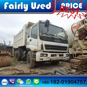 Low price Used Isuzu Tipper Truck of 6x4 Dump Tipper Truck used