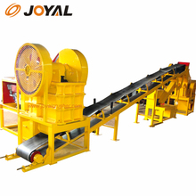 Joyal gyratory crusher New Condition and diesel Motor Type Joyal small aggregate crusher
