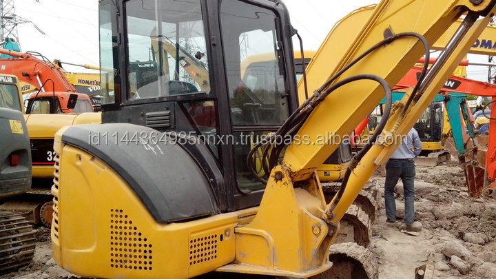 Good condition KOMATSU PC55MR-2 used excavator used caterpillar 320c excavator hot sell