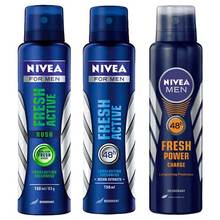 FOR NIVEA MEN 150 ML FRESH POWER