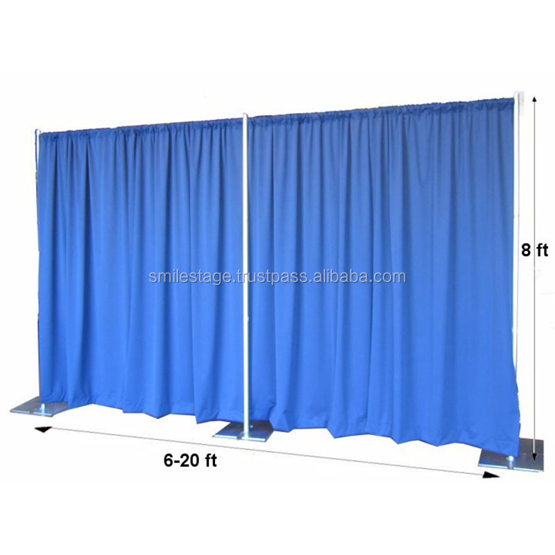 8x20ft photo booth props hanging room divider used pipe and drape for sale
