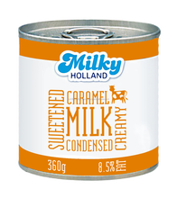 Caramelized sweetened condensed milk for sale