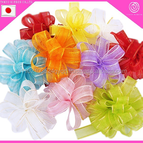 Great-quality decorative pull bow for wholesale ribbon suppliers