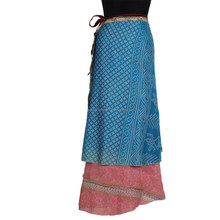Latest Indian Handmade Fashion Designer Girls Skirts Summer Wrap Pleated Long Skirt Design
