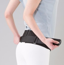 Sport Pelvis support Belt, Back support for Athlete, Made in Japan