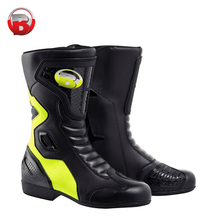 Fashion Waterproof Leather Motorcycle Motorbike Boots BH5003