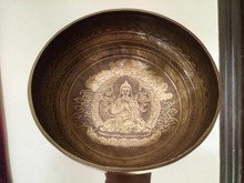 New different Carving handmade Singing bowls manufacture in Nepal